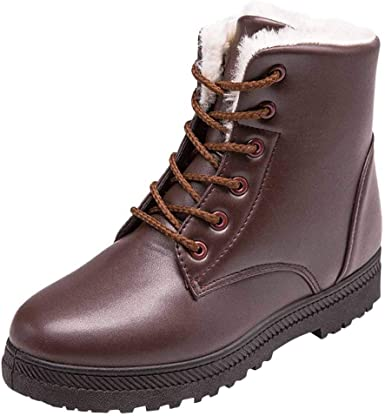 Women's Ankle Snow Boots Stylish Winter