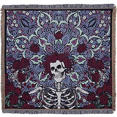 Grateful Dead - Psychedelic Bertha Throw Blanket