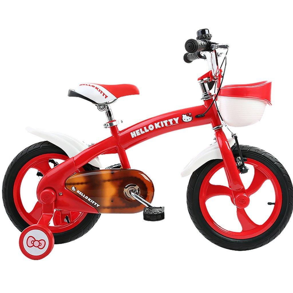 子供の自転車の赤ちゃん12/14/16インチ2-12歳の男の子と女の子赤ちゃんのベビーカーのベビーマウンテンバイク (色 : 赤, サイズ さいず : 14 inches) B07D9HKNBS 14 inches|赤 赤 14 inches