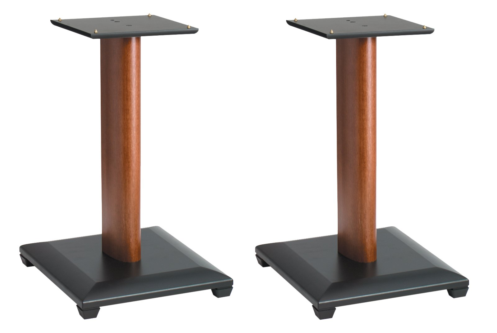 Sanus Natural Series 18'' Speaker Stands for Medium to Large Bookshelf Speakers (Cherry) - NF18C by Sanus