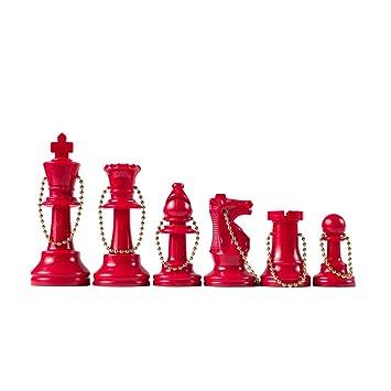 Wholesale Chess - Ajedrez Piezas Llavero Set: Amazon.es ...