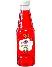 Jelly Belly JB15523 Very Cherry Shaved Ice and SNO Cone Syrup, 16-Ounces, Red