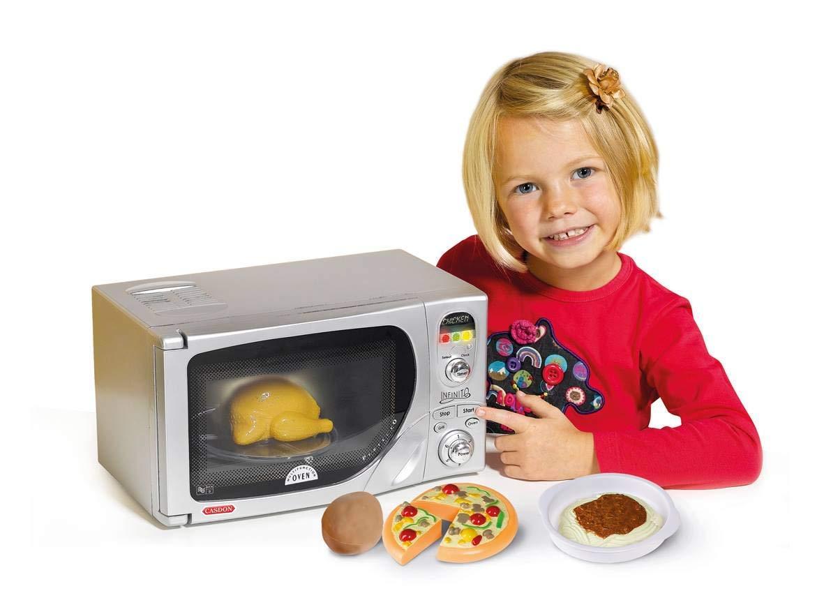 Casdon Electronic Toy Microwave by CASDON