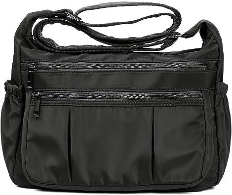 Waterproof Messenger Cross Body Ladies Handbag Bag Shoulder Bag Womens Purse US