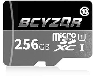 BCYZQR - Tarjeta de Memoria SD (256 GB, Micro SD, SDXC ...