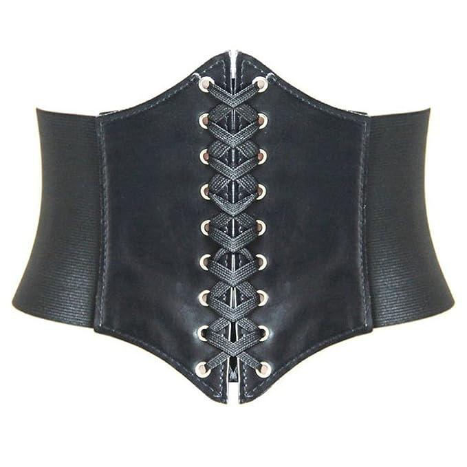 Vintage Retro Belts Lace-up Corset Elastic Cinch Belt Waist Belt Two Sizes $7.99 AT vintagedancer.com