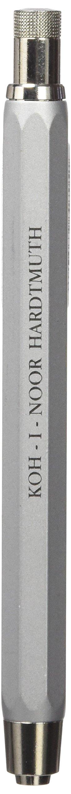 Koh-i-noor 5340 Silver All Metal Lead Holder with Built Sharpener.
