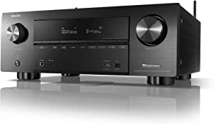 Denon AVR-X3600H UHD AV Receiver (2019 Model) - 9.2 Channel, 105W Each   NEW Virtual Height Elevation, Dual Subwoofer Outputs   Airplay 2 Alexa & HEOS