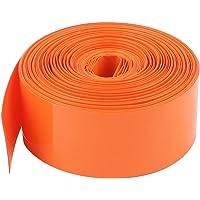10M Largo 23mm Naranja PVC Tubo Termoretráctil Cobertura