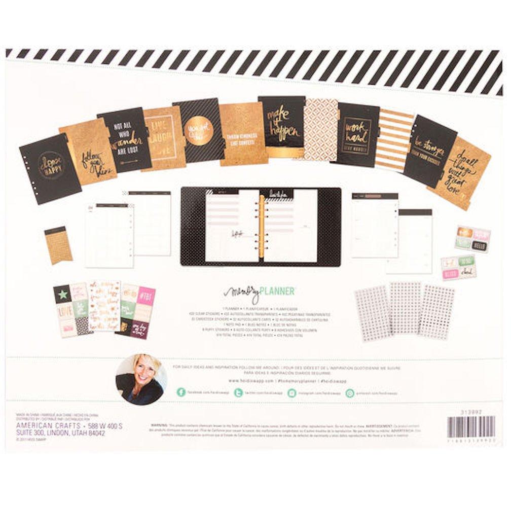 All the Details Heidi Swapp Memory Planner Kit 474 pcs