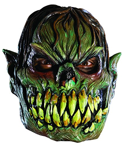 Rubies Child's Creeper 3/4 Vinyl Mask (Alien Child Mask)
