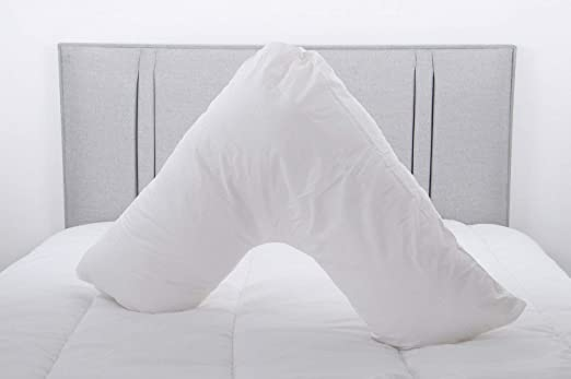 V Shape Support Pillow Hollow Fibre