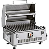 Solaire SOL-IR17BWR Portable Infrared Gas Grill With Free Carrying Bag & Warming Rack, Stainless Steel