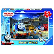 Amazon Lightning Deal 93% claimed: Thomas & Friends Night Work Glow-in-The-Dark Puzzle, 60-Piece