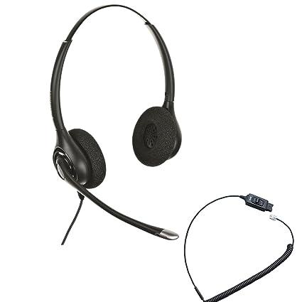 f32c957163a Avaya Compatible Plantronics Headset HW261N w/Mute Bundle | for Avaya IP  Phones: 1608