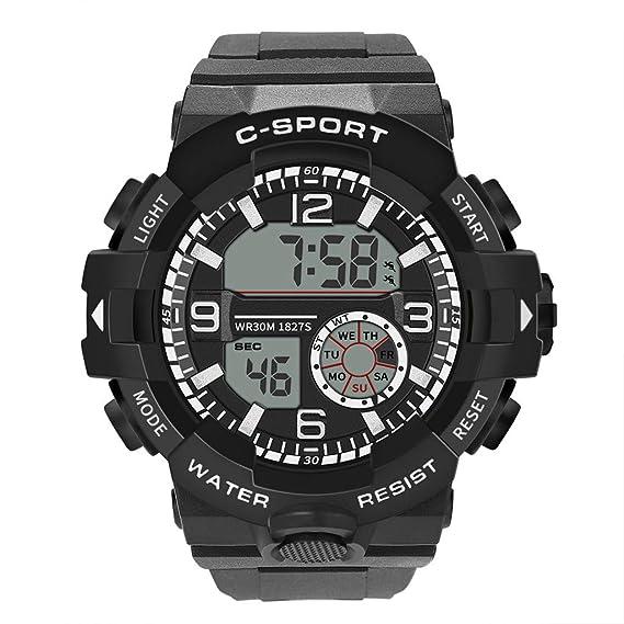 Amazon.com : Men Sport Watch DBHAWK Luxury Male Analog ...