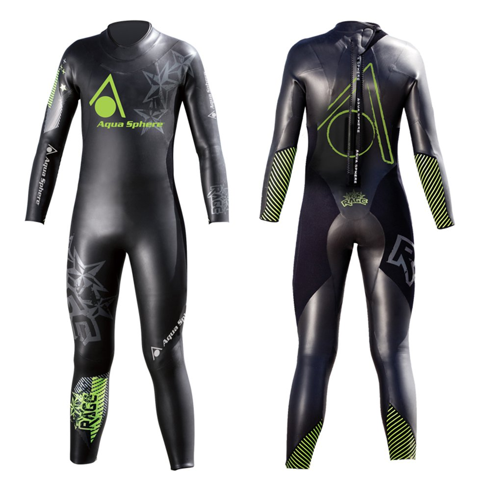 Image of Aqua Sphere Youth Powered Multisport Rage Wet Suit Wetsuits