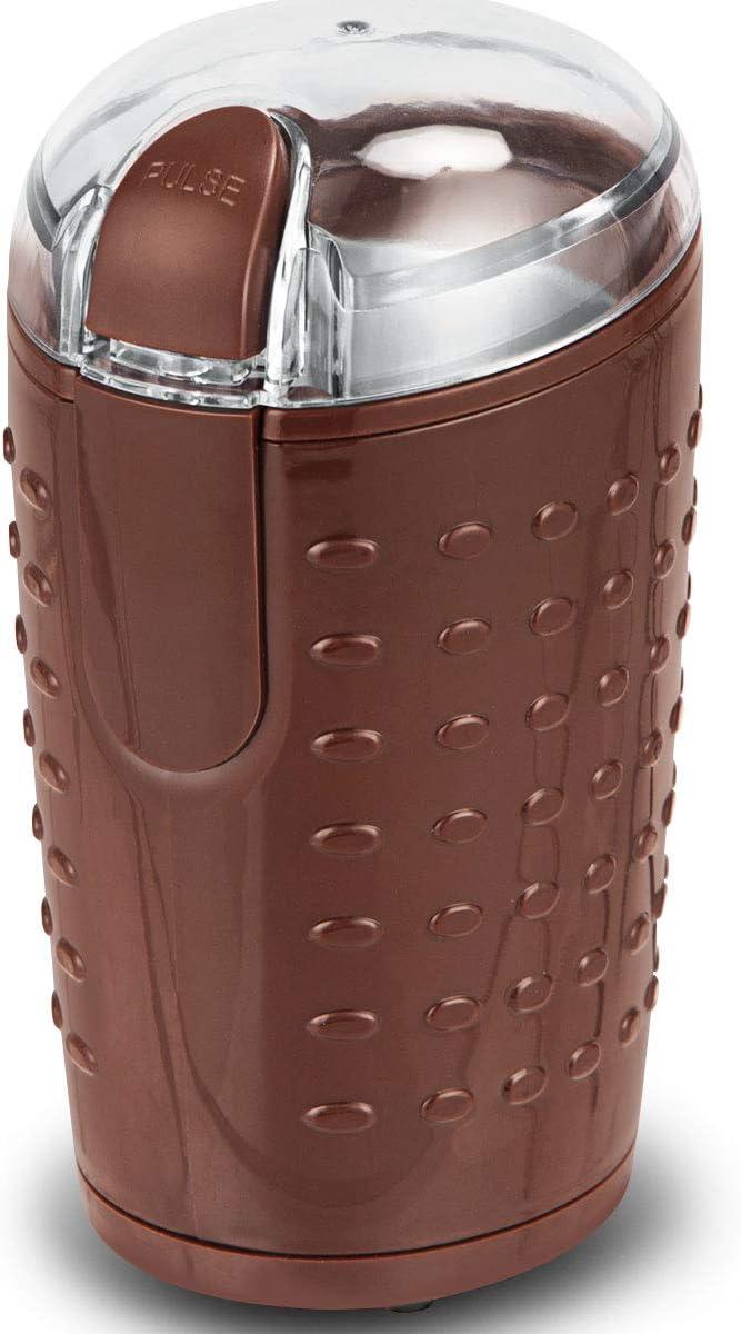 Braun Universalm/ühle 150W M/ühle aus Edelstahl Scheibenmahlwerk Ideal f/ür Espresso Kaffeebohnen N/üsse usw. GOPLUS Kaffeem/ühle Elektronisch