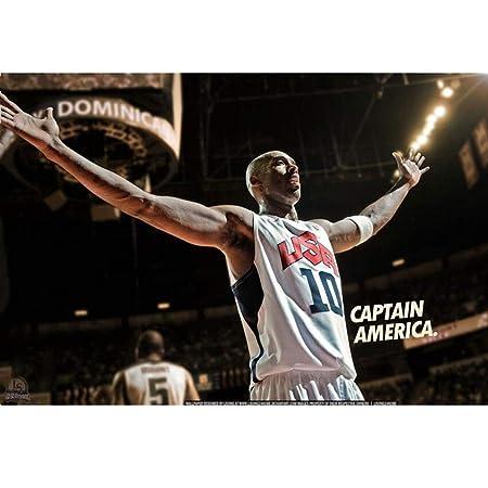 La Estrella De Baloncesto Del Cartel Rompecabezas Kobe ...