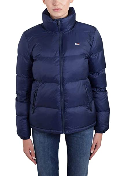 f311ef1250ab Tommy Hilfiger Women s Puffer Jacket with Down Fill Classics Collection Down  Coat