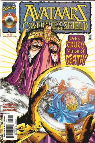 Avataars: Covenant of the Shield #2 October 2000