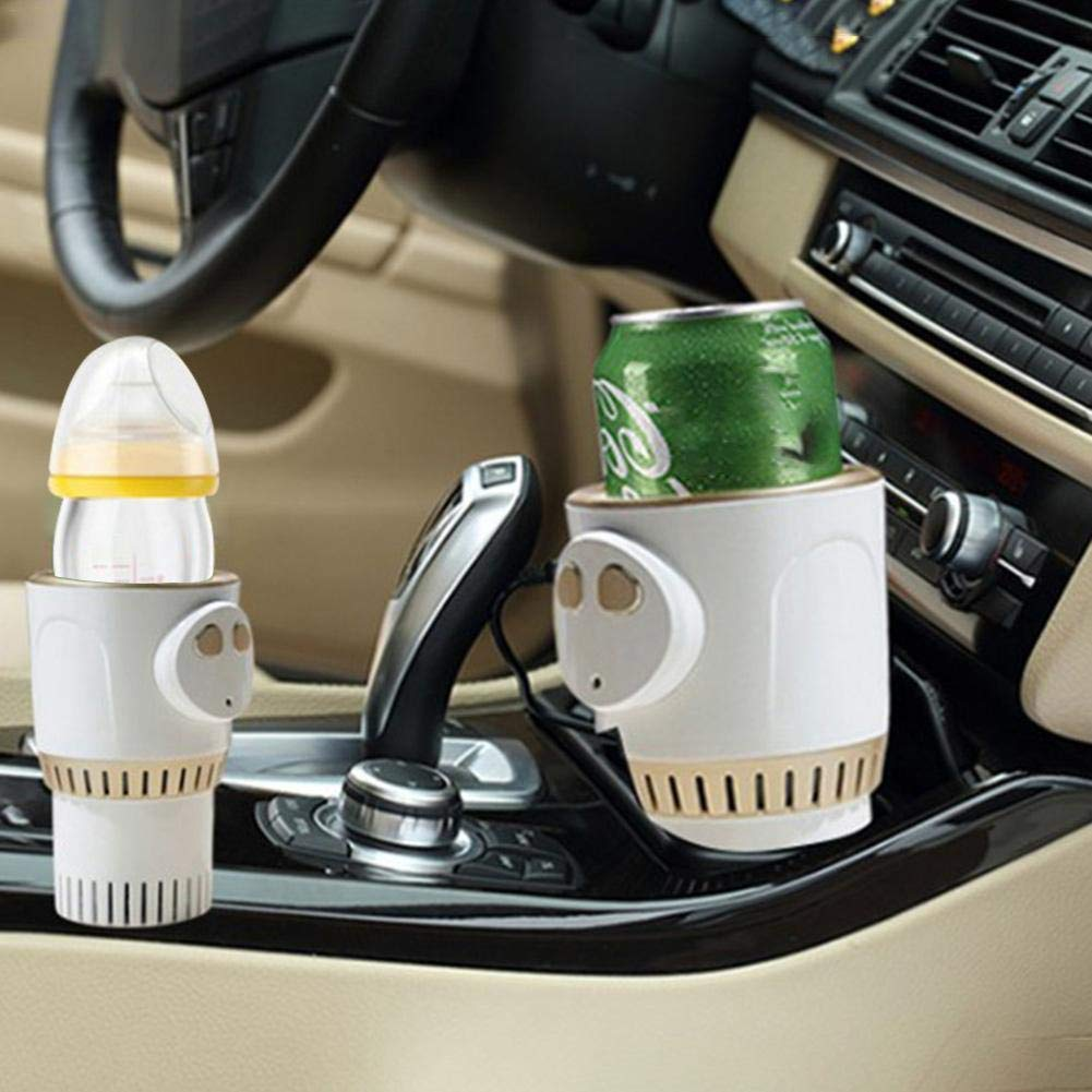 Lianle Car Warm and Cold Cup,Smart Warm and Cold Cup Electric Coffee Warmer Beverage Warmer Heating Cup for Road Trip by lianle -123 (Image #7)