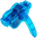 Zacro 3D Bike Chain Cleaner - Quick Clean Tool for All Types of Bicycle / Cycling Mountain Bike Chains