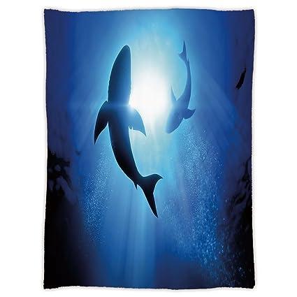 Amazon.com  Super Soft Throw Blanket Custom Design Cozy Fleece ... b97bee002