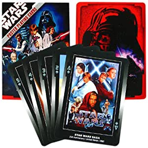 Star Wars Collectors Deck Poster Playing Cards, Single Deck