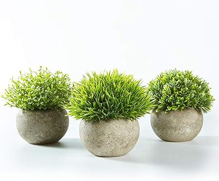 【Plantas en Maceta Artificiales con Acabado Realista 】Gracias a sus materiales de primera calidad, s