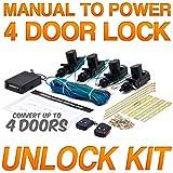 Power Car Door Lock / Unlock Kit Keyless Remote For Toyota Matrix Prius RAV4 Supra Tacoma Wagon Yaris