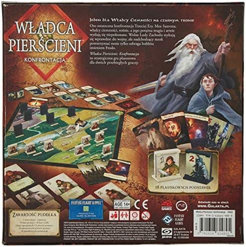 Edge Entertainment El Señor de los Anillos: El enfrentamiento: Amazon.es: Juguetes y juegos