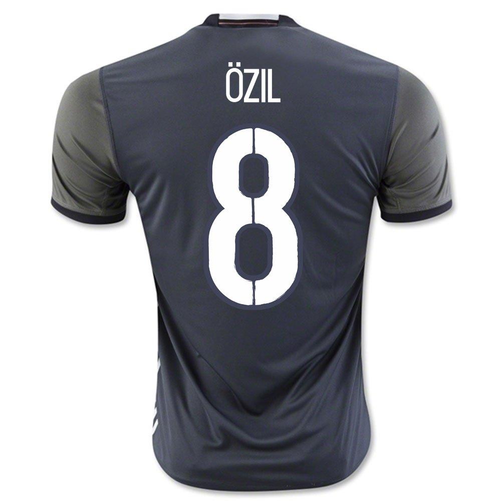 2016-2017 2016-2017 2016-2017 Germany Away Football Soccer T-Shirt Trikot (Mesut Ozil 8) 56123d