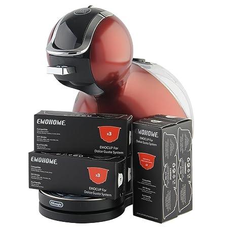 HITSAN cápsulas de café emocup recargables compatibles con sistema ...