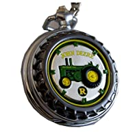 Franklin Mint Pocket Watch Model R Tractor LE, New