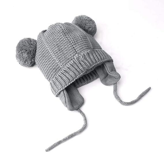 Baby Mütze Wintercovermason Säuglingsbaby Mädchen Junge Mütze