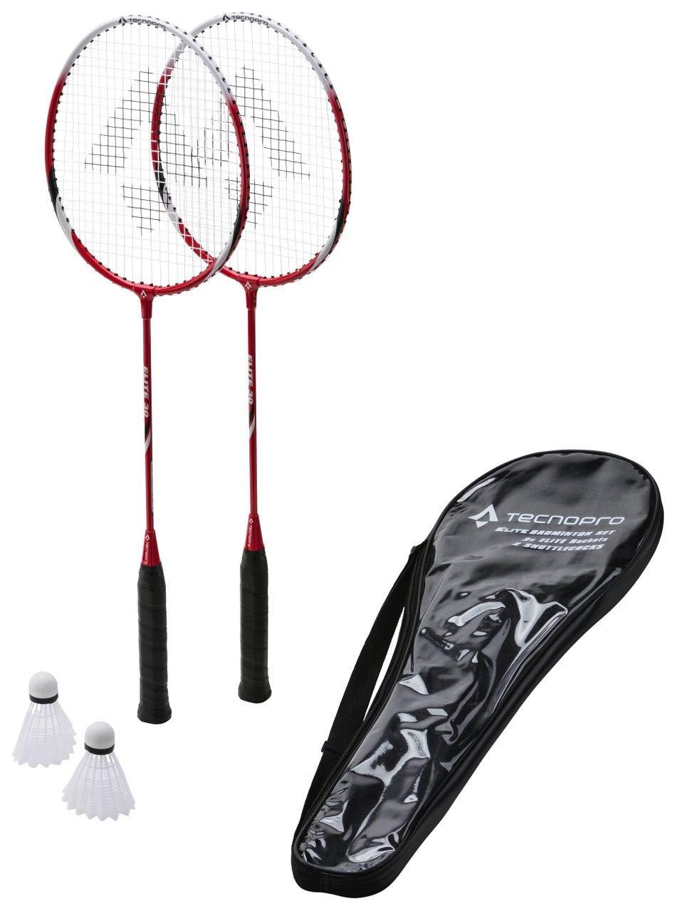TECNOPRO Badm-Set Elite 30 BLAU/SCHWARZ Tecnopro Elite Badminton-Set rot 3 1/2 TED26|#Tecnopro