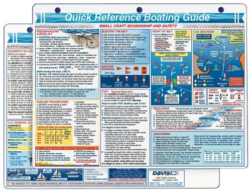 Davis Instruments Boating Guide Quick Reference Card