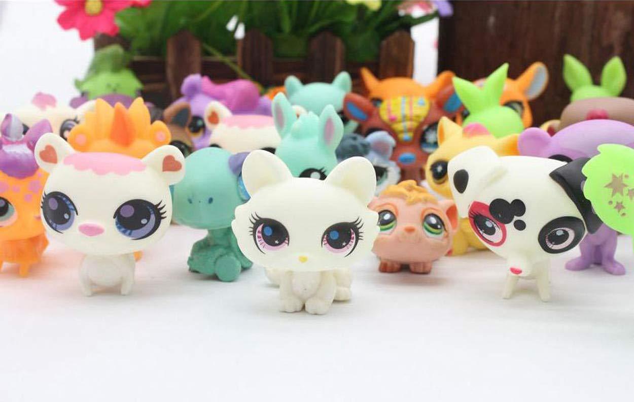Amazon.com: 20 piezas / bolsa pequeña mascota tienda Mini ...