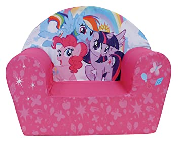 Fun House 712518 My Little Pony Silla Club de Espuma para niños poliéster 52 x 33 x 42 cm