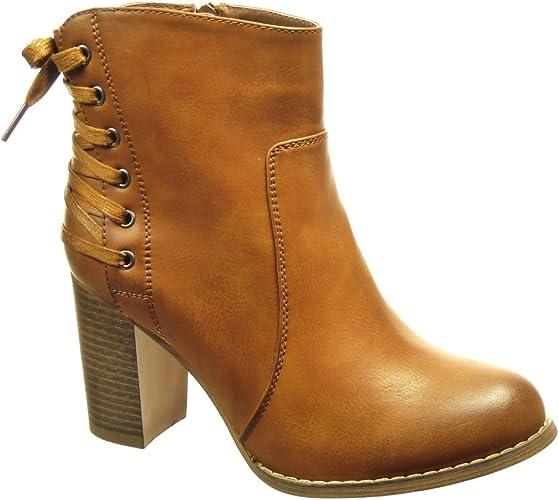 chaussure boots femme sans talon