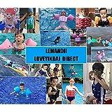 Lemandii One-Piece Children Buoyancy Swimsuit
