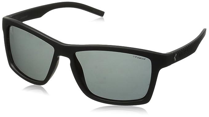 Polaroid Herren Sonnenbrille Pld 7009/S Y2 DL5, Schwarz (Matt Black/Grey Pz), 57