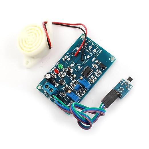Módulo de Circuito del sensor de Efecto DC 24V Pasillo de alarma ...