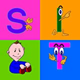 AbiTalk Phonics Vowels for preschool, kindergarten and first grade