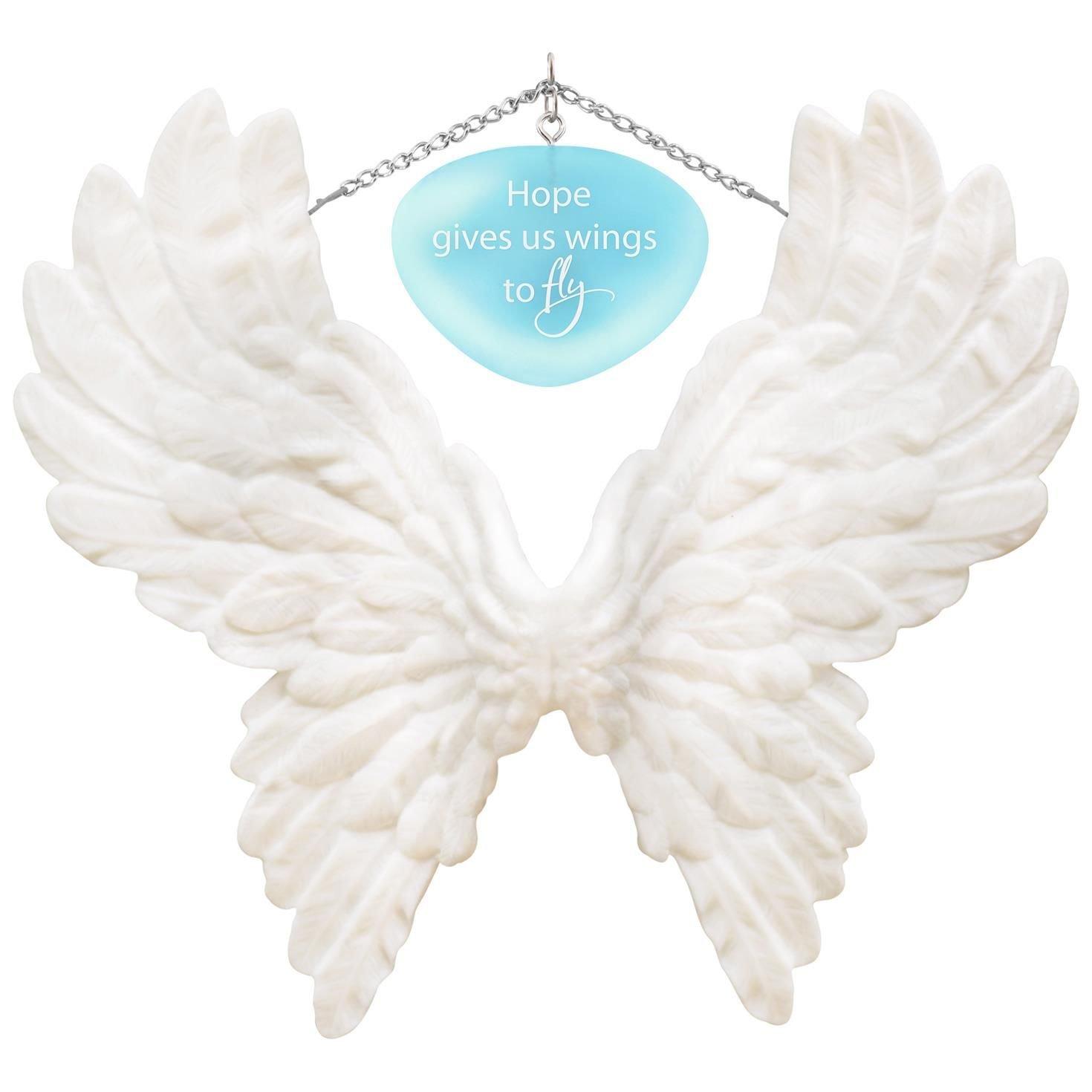 Hallmark Keepsake 2017 Wings to Fly Encouragement Porcelain Dated Christmas Ornament