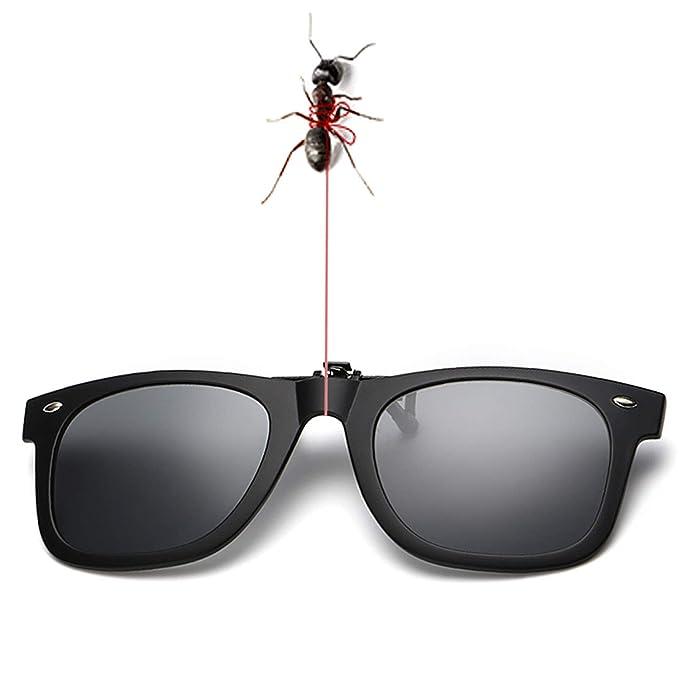 Amazon.com: Gafas de sol con clip para prescripción, unisex ...