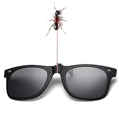 Amazon.com: Gafas de sol polarizadas con clip, lentes ...