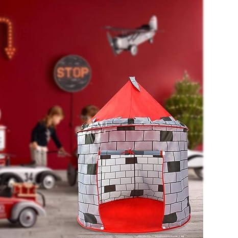 Mobiliario y materiales para educación temprana HJGHFH Castillo Pop Up para niños Artículos educativos Adecuado para Uso Interior y Exterior