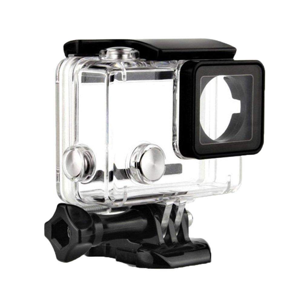 Waterproof Housing for GoPro 4 3 + 150''/45M Underwater Diving Protective Case Accessory Kit With Bracket For GoPro Hero4 Hero 3+ 3Plus Hero 3